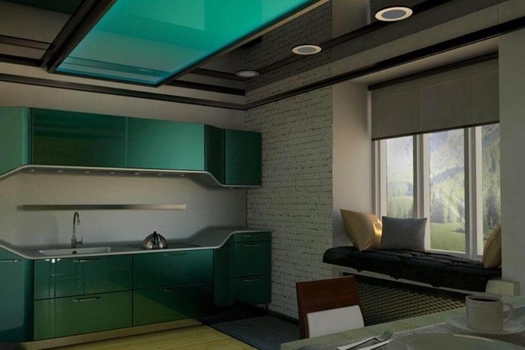 residential-ceiling-kitchen-living-room