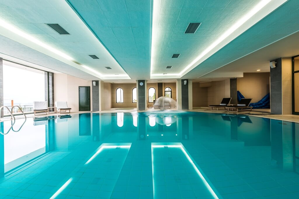 ceiling for swimming pools
